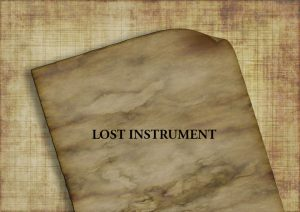 North Dakota Lost Instrument Bond