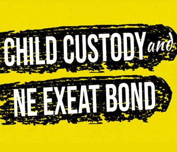 Child Custody Infographic Ne Exeat Infographic img