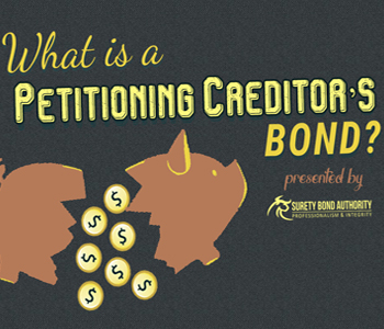 Petitioning Creditor's Bond Infographic img