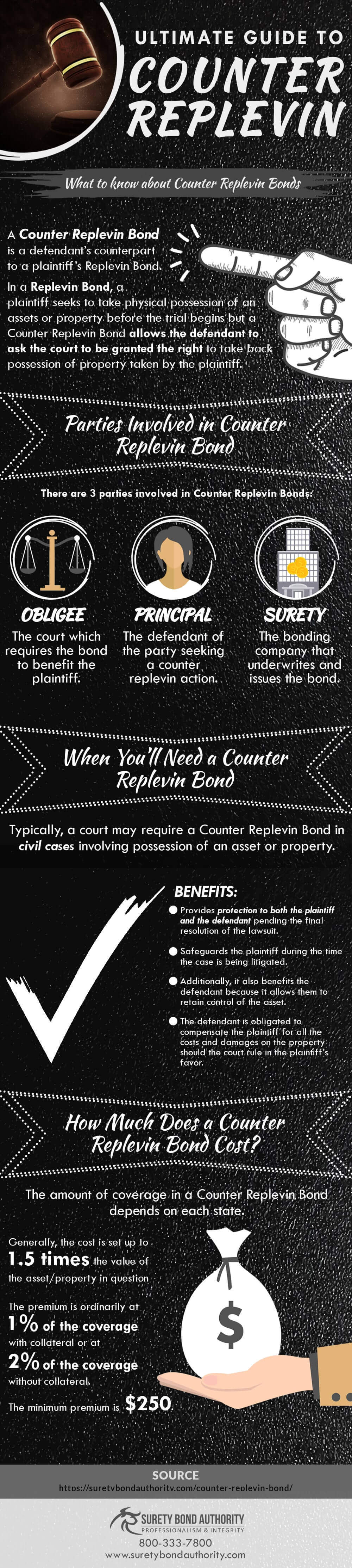 Counter Replevin Bonds Infographic