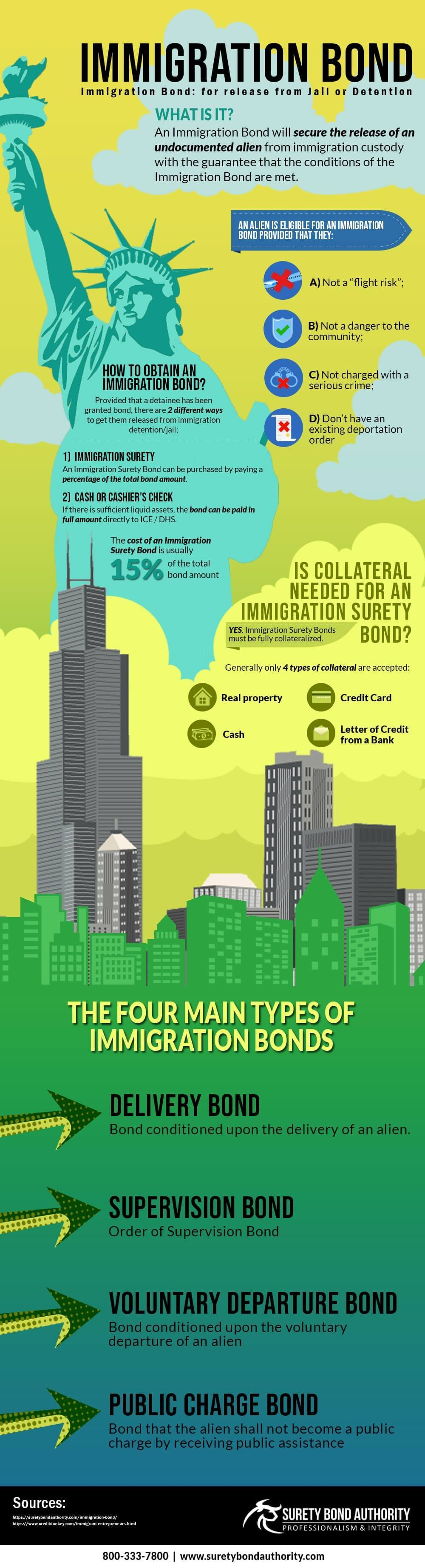 Immigration Bond Infographic