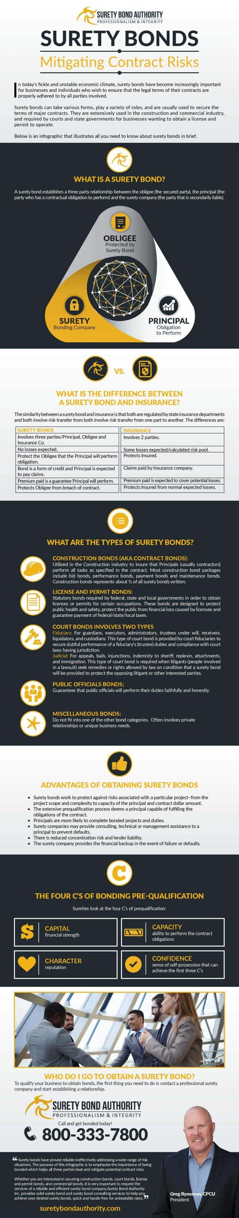 Surety Bond Infographics