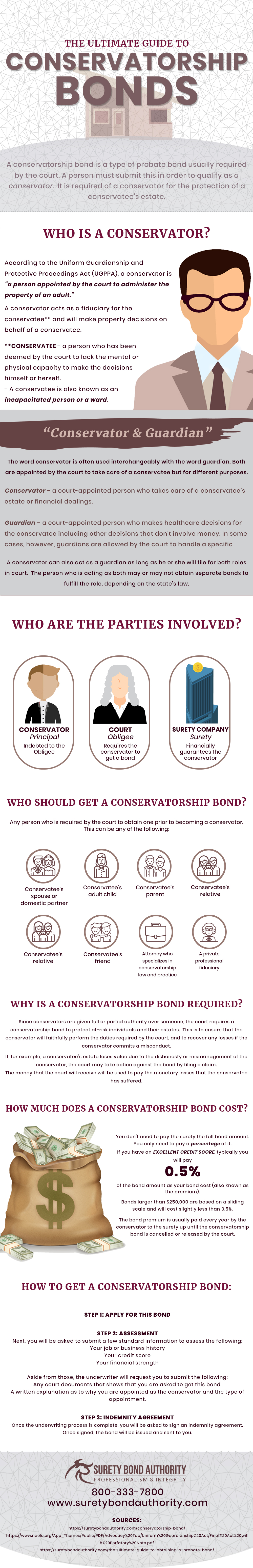 Conservatorship Bonds Infographic