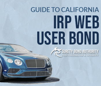 California IRP Web User Bond