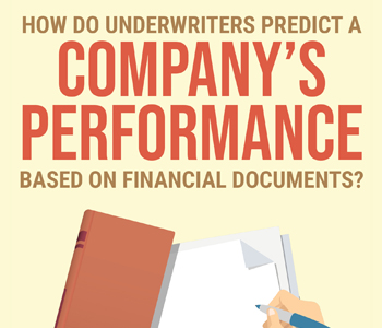 How Underwriters Predict a Company's Performance Based on Financial Documents