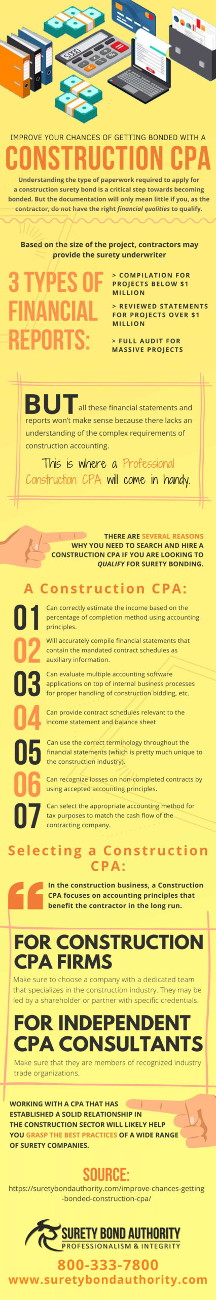Get Bonded With a Construction CPA