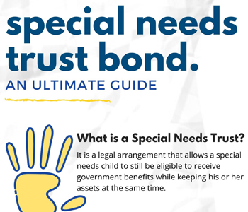What are Special Needs Trust Bond