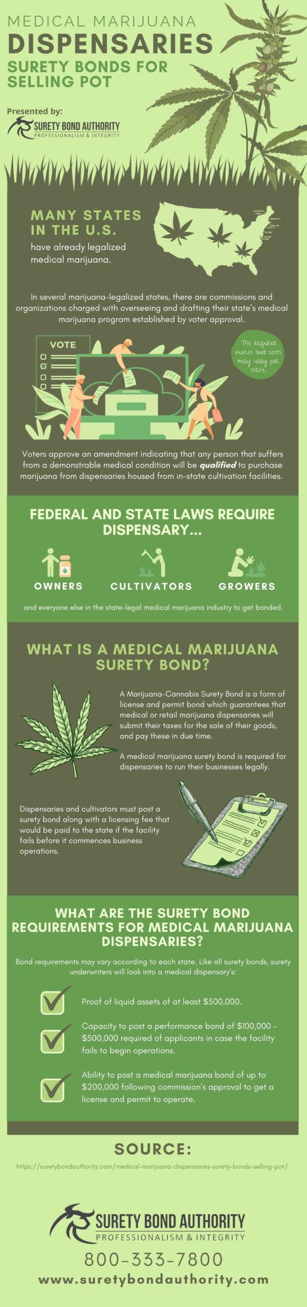 Medical Marijuana Dispensaries Infographic